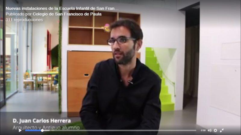Entrevista sobre Escuela Infantil SFP
