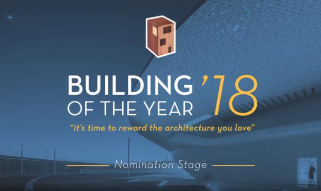 Preseleccionado Building of the year 2018