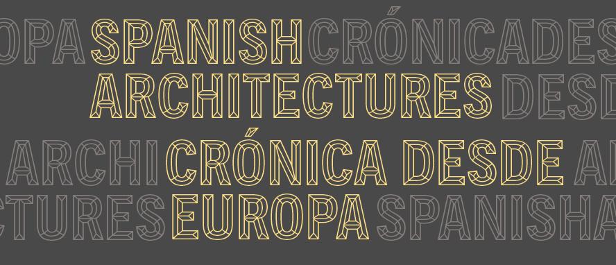 Exposición Spanish Architecture