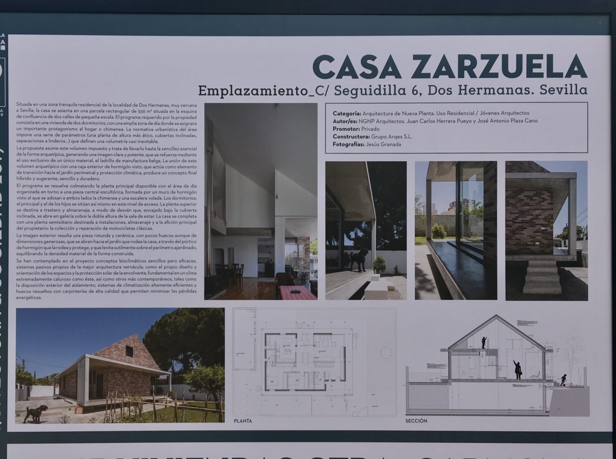 Exposición Premios COAS arquitectura y sociedad 2019